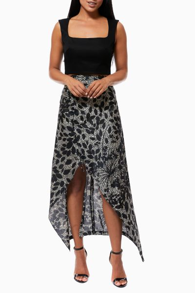Ms Glitzy Python Calf-Hide Bag